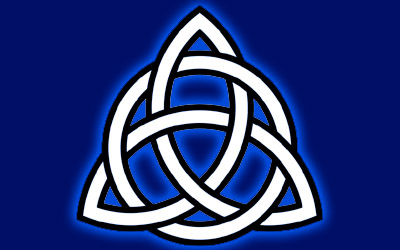 Triquetra with circle